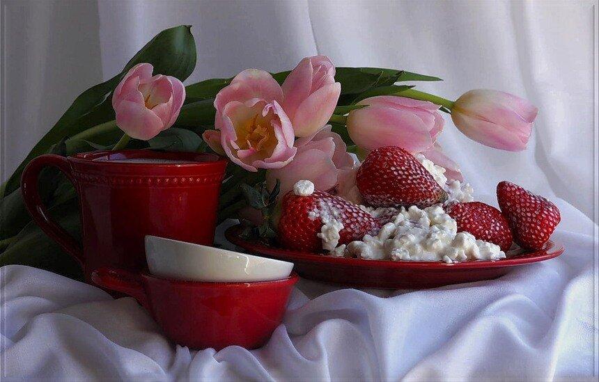 Открытка с добрым утром с новым днем, марта любимая